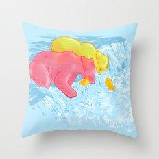 WILD SNACKS Throw Pillow
