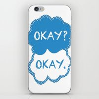tfios iPhone & iPod Skins featuring TFIOS Dots by All Things M