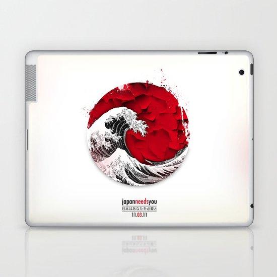 Japan needs you Laptop & iPad Skin