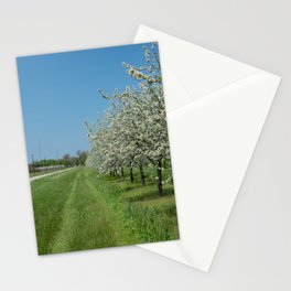 blossoms for miles Stationery Cards