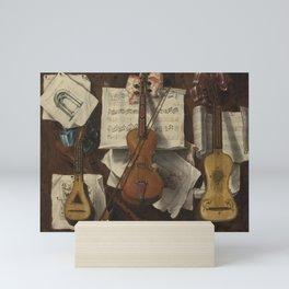 Trompe l'oeil by Sebastiano Lazzari Mini Art Print
