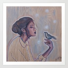 The Mockingbird Art Print