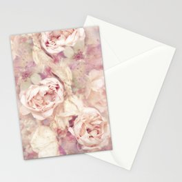 FADED ROSES Stationery Cards