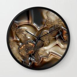 Cameo Cream Wall Clock