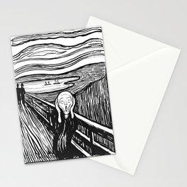 "Edvard Munch ""The Scream"", 1895 Stationery Cards"