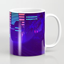 Synthwave Space #5: Space city Coffee Mug