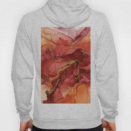 Abstract Autumn Flower Hoody