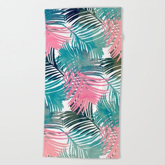 Pattern Jungle Beach Towel