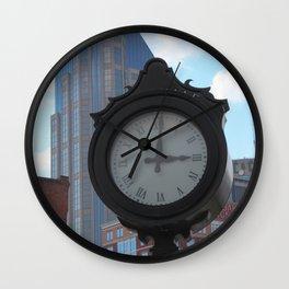 It's 3'oclock in Nashville Wall Clock