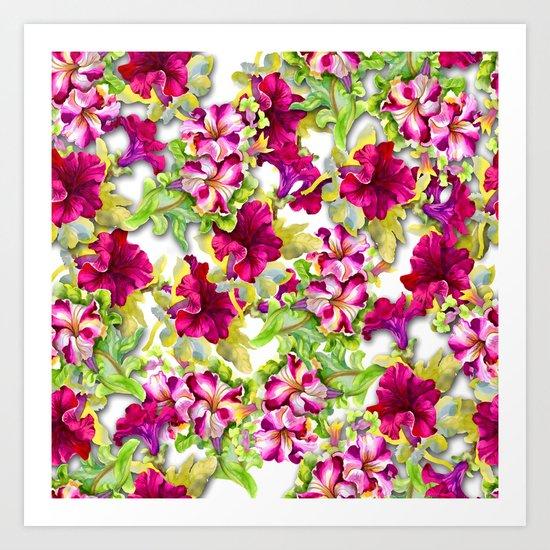 Purple Paradise Art Print