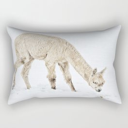 Hello...... Are you cold? Rectangular Pillow