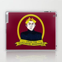 General Hux: Crush the Loathsome Resistance Laptop & iPad Skin