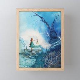 Alliberar la llum Framed Mini Art Print