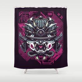 Murashi Samurai Shower Curtain