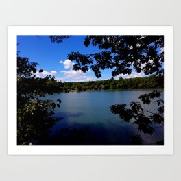 Afternoon at Grover place Art Print