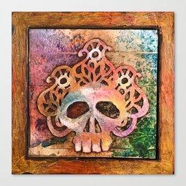 San Francisco Sugar Skull 5 Canvas Print
