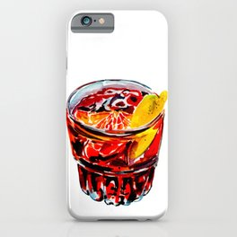 Negroni party #1 iPhone Case