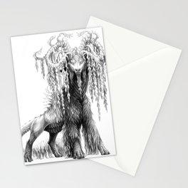 Salix babylonica Stationery Cards