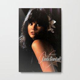 LINDA RONSTADT Hasten Down the Wind Promo 1976 Metal Print