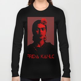 Frida Kahlo (Ver 8.3) Long Sleeve T-shirt