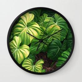 Australia tropical plants Wall Clock