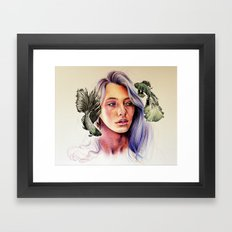 Weird Fishes Framed Art Print