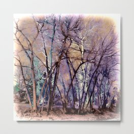 Trees are Poems That the Earth Writes Upon the Sky Metal Print