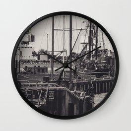 Hafen Wismar Wall Clock