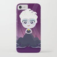 ursula iPhone & iPod Cases featuring Ursula  by Loud & Quiet