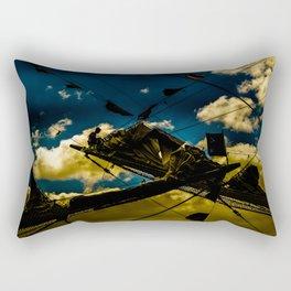Sailor at Reefpoint High Contrast Photo Rectangular Pillow