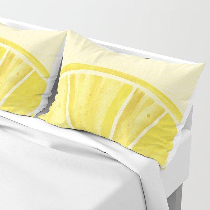 Lemony Goodness Pillow Sham