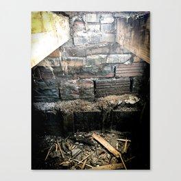 Virgil Avenue Bones Canvas Print