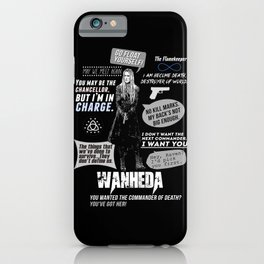 Clarke Griffin - Quotes The 100 iPhone Case