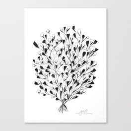Shrub in Bloom Canvas Print