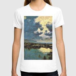 12,000pixel-500dpi - David Young Cameron - Moonlit Marsh - Digital Remastered Edition T-shirt