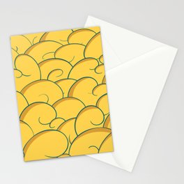 Golden Clouds Stationery Cards