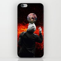football iPhone & iPod Skins featuring Football by Cs025