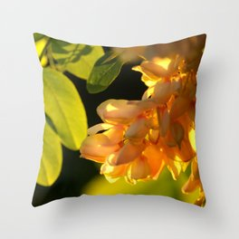 Robinia tree Throw Pillow