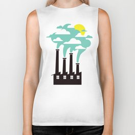 The Cloud Factory Biker Tank