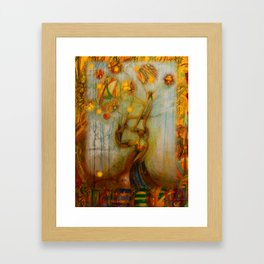 Axis Mundi IV Framed Art Print
