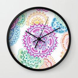 Multi Manda Wall Clock