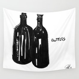 Bottles Wall Tapestry
