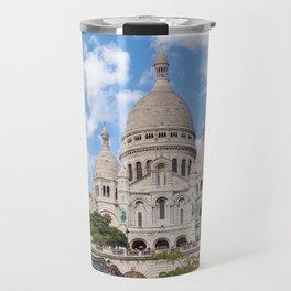 Sacre Coeur Basilica and Carrousel Travel Mug