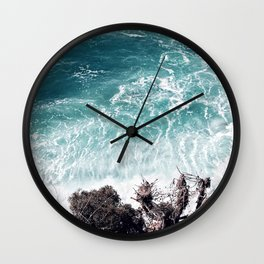 Teal-ness Wall Clock