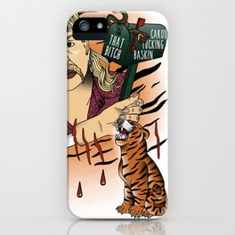 Tiger king iPhone Case