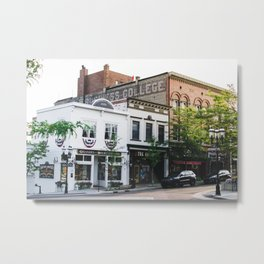 Petoskey Street Metal Print