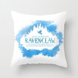 Ravenclaw Throw Pillow