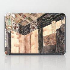 inside the Art Deco spaceship iPad Case