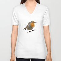key V-neck T-shirts featuring Key by Janko Illustration