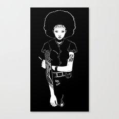 Lit Match Canvas Print